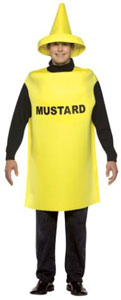 Costume moutarde