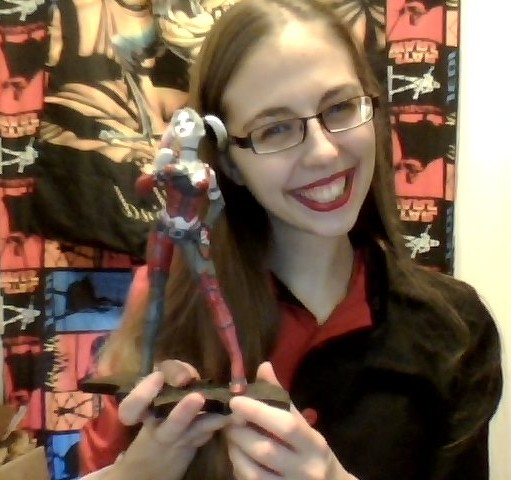 Jessica Bernier et sa figurine